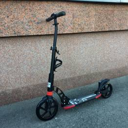 Самокат Rw Scooter D-MAX 230 (black\red)