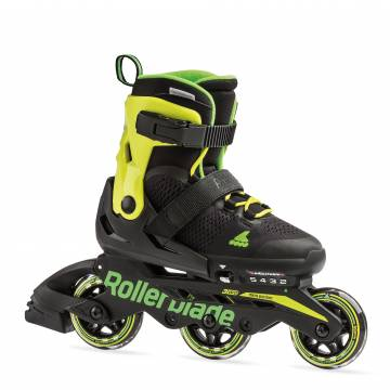 Rollerblade MICROBLADE 3WD black/lime 2019