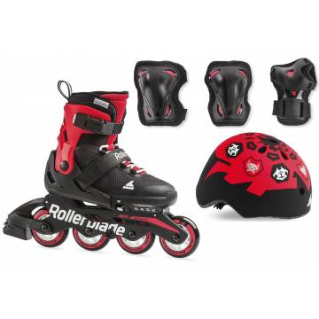 Rollerblade CUBE black/red 2019