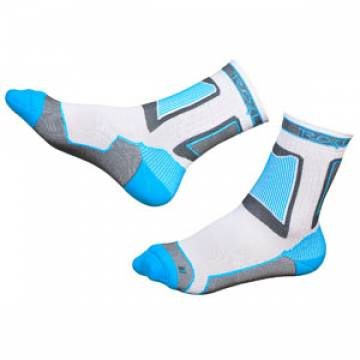 Носки Rollerclub Performance (white/cyan)