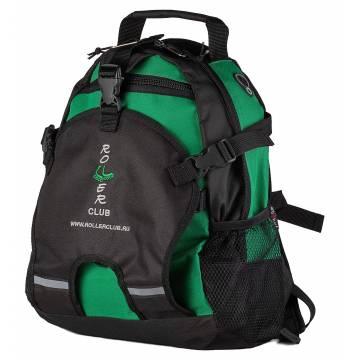 Рюкзак для роликов Rollerclub маленький Зелёный