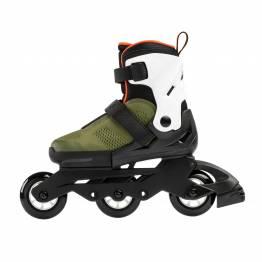 Rollerblade MICROBLADE  FREE 3WD military green / orange 2020