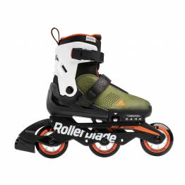 Rollerblade MICROBLADE  FREE 3WD military green / orange 2020