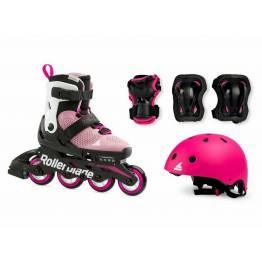 Rollerblade CUBE G pink/white 2021