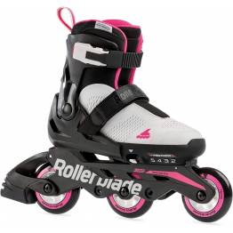 Rollerblade MICROBLADE 3WD G cool gray / candy pink 2021