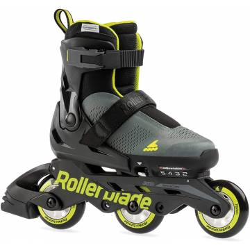 Rollerblade MICROBLADE 3WD anthracite / lime 2021