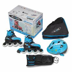 Micro Skate Combo Blue (шлем+защита+сумка)