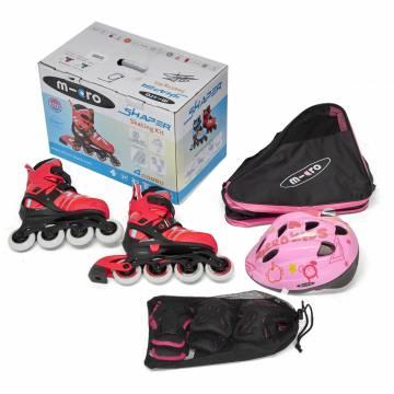Micro Skate Combo Red (шлем+защита+сумка)