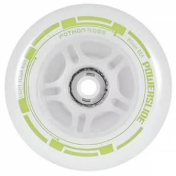 Колеса POWERSLIDE Fothon Chill 80mm (светящиесязелёные)