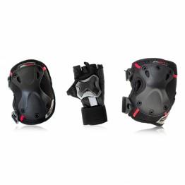 Комплект защиты SEBA 3-pack (перчатки+локти+колени)