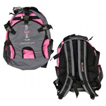 рюкзак для роликов Rollerclub маленький Розовый