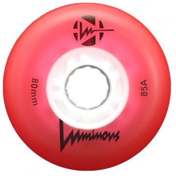 LUMINOUS RED 85А 2021 (4 шт) Светящиеся колёса