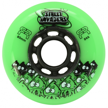 FR STREET INVADERS GREEN 80MM / 84А (4 штуки)