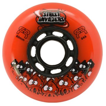 FR STREET INVADERS ORANGE 80MM / 84А (4 штуки)