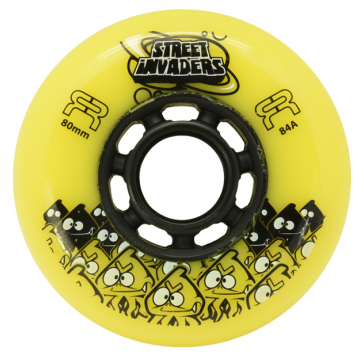 FR STREET INVADERS YELLOW 80MM / 84А (4 штуки)