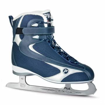 Ледовые коньки FILA CHRISSY LX BLUE/SILVER