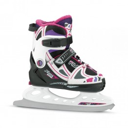 Ледовые коньки FILA X-ONE ICE G BLACK/MAGENTA