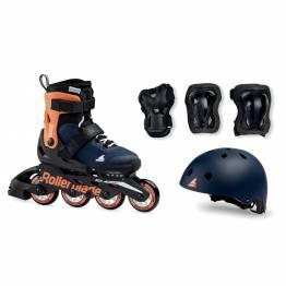 Rollerblade CUBE Midnight blue/Warm orange 2020