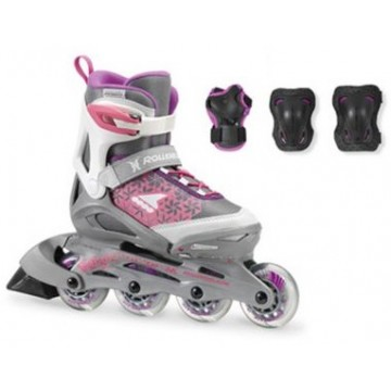 Rollerblade Combo G white/purple 2018