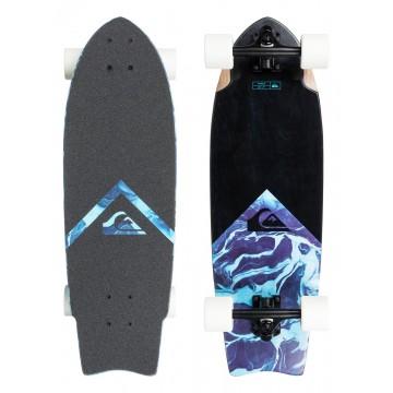 "Круизер Quiksilver Marble - 28"" Mid Size Cruiser Skateboard"
