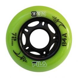 Колёса FILA Urban wheels 80mm/84A