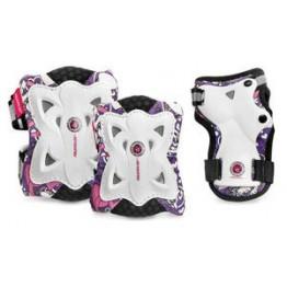 Детская защита Powerslide Kids Pro Butterfly розовая
