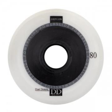 Колеса Powerslide Defcon белые 80мм (4 штуки)