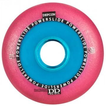 Колеса Powerslide Defcon розовые 80мм (4 штуки)