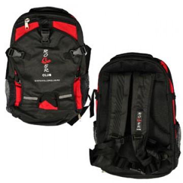 Rollerclub рюкзак RC big (black red)