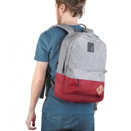 Рюкзак Just Backpack Vega grey-noise-wine