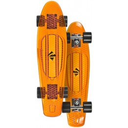 Скейтборд Choke Juicy Susi прозрачно-оранжевый 2016