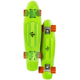 Скейтборд Choke Juicy Susi прозрачно-зелёный 2016